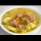 Фото Суп с фрикадельками и клецками