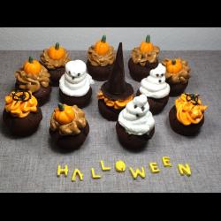 """Рецепт: Капкейки """"Хэллоуин"""""""