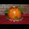 Фото Гречка в тыкве-приведение на Хэллоуин