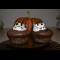 Фото Черные хеллоуинские кексики с маршмеллоу