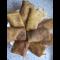 Фото Соленые блины с картофельно-печеночной начинкой