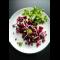 Фото Салат с фасолью и зернами граната