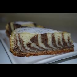 """Рецепт: Манник """"Зебра"""" с какао"""