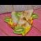 Фото Блинные конвертики с фруктами