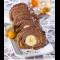 Фото Шоколадно-банановый рулет