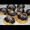 Фото Печенье из кукурузной муки с шоколадной глазурью