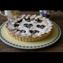 Рецепт: Вишневый пирог ко Дню Влюбленных