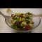 Фото Сытный салат из цветной капусты с фасолью
