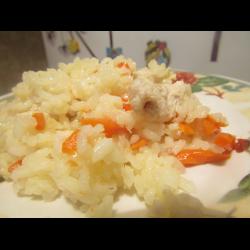 Рецепт: Рисовая каша с грудкой детям