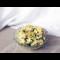 Фото Пикантный салат с авокадо, курицей и апельсином под под соусом из йогурта и чим-чим