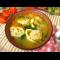 Фото Куриный суп с сырными рулетиками