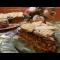 Фото Закусочный вафельный торт с печенью