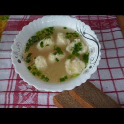Рецепт: Суп с сырными клецками