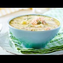 Рецепт: Молочный суп с картофелем