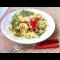 Фото Салат из курицы, помидоров, огурцов и пекинской капусты