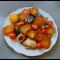 Фото Сельдь тушеная с овощами