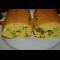 Фото Наливной рулет с яйцами и зеленым луком