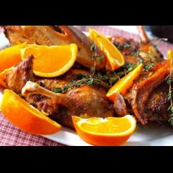 Рецепт: Рождественская утка в духовке