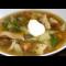 Фото Легкий суп с перепелиными яйцами и сухими грибами