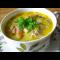 Фото Суп из брокколи с мясными фрикадельками