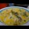 Фото Суп из куриных сердечек с грибами и сыром