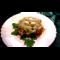 Фото Салат фунчоза с креветками и моцареллой