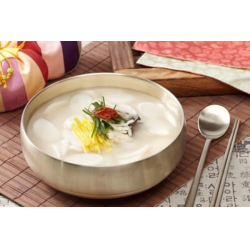 Рецепт: Корейский суп с рисовыми клецками