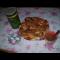 Фото Сырники с изюмом и яблоками