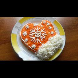 салат рукавичка рецепт с фото