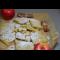 Фото Печенье с яблоками и изюмом