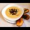 Фото Сырный суп с мидиями и сухариками