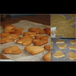 Рецепт: Бисквитное печенье для малышей