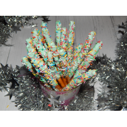 Рецепт: Палочки Пеперо, сладости на Новый год