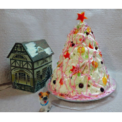 "Рецепт: Новогодний торт ""Зимняя сказка"""