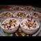 Фото Желейно-сметанный десерт с свежими фруктами