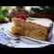 Фото Рождественский бисквитный торт с заварным кремом