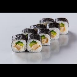 Рецепт: Ролл с японским омлетом