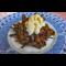 Фото Горячий салат из чесночных стрелок