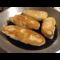 Фото Жареные дрожжевые пирожки с гороховой начинкой