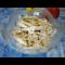 Фото Салат из маринованных кабачков и куриного мяса