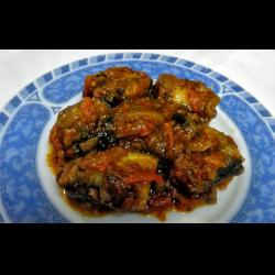 Рецепт: Путассу в маринаде