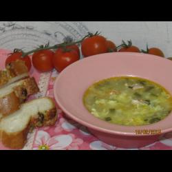 """Рецепт: Суп """"Юшка"""" с тефтелями из индейки для детей"""