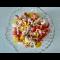 Фото Салат с копченой курицей и болгарским перцем