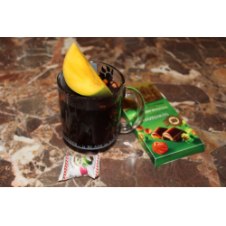 Рецепт: Грог с корицей и фруктами