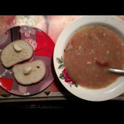 Рецепт: Суп гороховый с корнем сельдерея