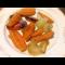 Фото Морковь и лук запеченные в рукаве