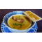 Фото Сырный суп пюре с копченой косичкой