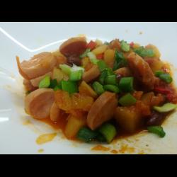 Рецепт: Овощное рагу по-мексикански