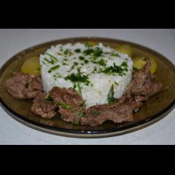 """Рецепт: Мясо """"Струганина"""""""