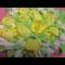 Фото Украшаем торт в виде подарка белково-заварным кремом